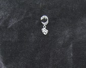 sterling silver  comedy and tragedy ear cuff