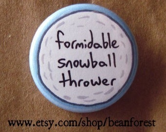 formidable snowball thrower