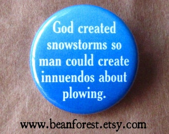 god created snowstorms for plow jokes