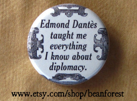 edmond dantes taught me about diplomacy (Count of Monte Cristo)