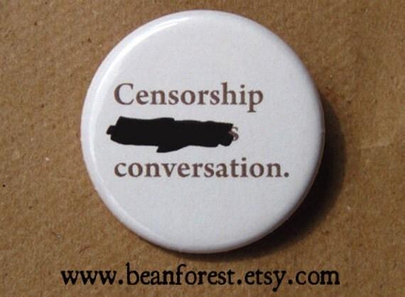 "censorship """"""""""""""s conversation"
