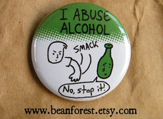 Alcohol Abuse button
