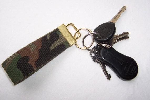 Camo Key Chain (fingertip)