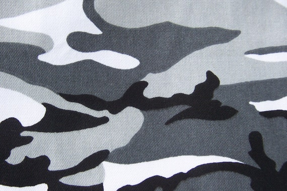 Camo Fabric - 61 inches wide x 12 long - Remnant