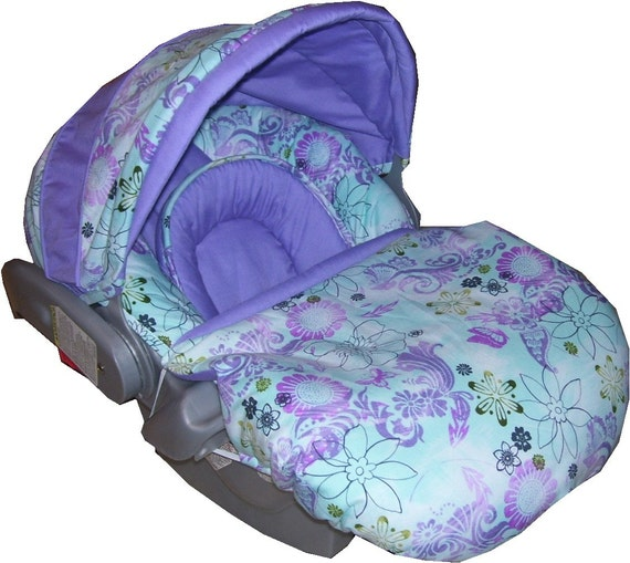 Custom Baby Car Seat Covers >> PDJeweler Designed her own Graco SNUGRIDE Infant Car Seat