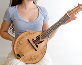 Dove sound hole Mandolin