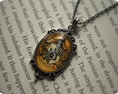 Little Misses Hufflepuff Necklace