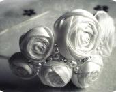 SALE White Rose Headband