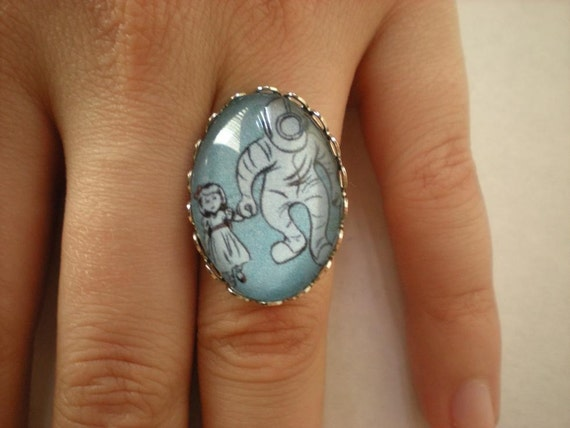 Here we are Mr Bubbles Bioshock ring