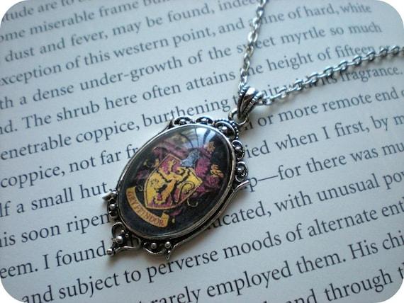 Little Misses Gryffindor Necklace