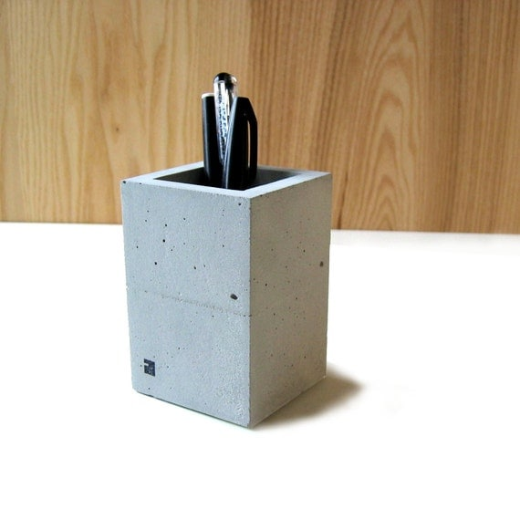 Pencil cup - chunk on the desk  -
