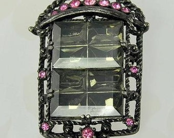 Vintage SARAH COVENTRY Midnight Magic Brooch from 1957
