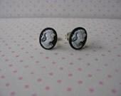 Camilla's cameo earrings