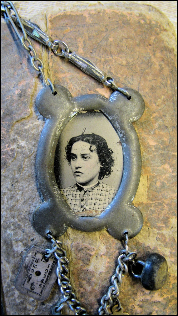 Abigail's Remembrance Tintype Necklace