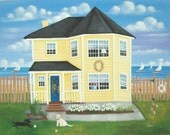 For Melissa~Second Payment of 2~Custom Cottage Painting