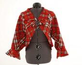 Plaid Fleece Jacket