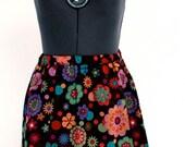 Puncy Print Skirt