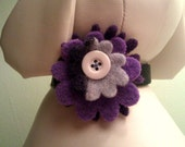 Grape Purple Flower for Dogs or Cats - Handmade
