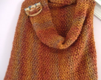 Autumn Fire Shawl
