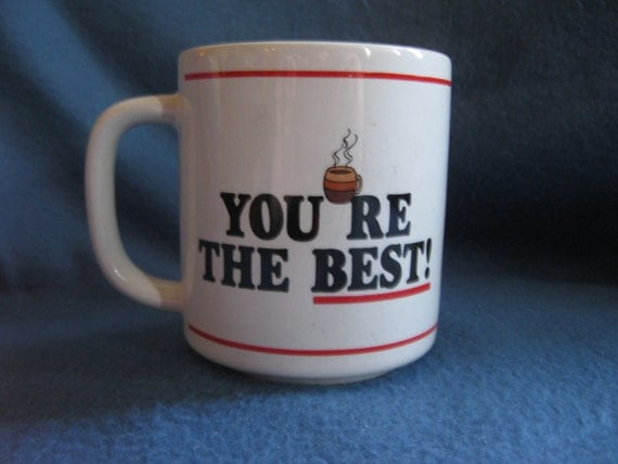 Vintage, You're The Best Boss Mug
