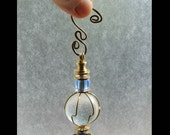 Cool Ice Small Suncatcher Clear Glass Ornament Small Gifts