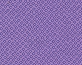 Michael Miller Mini Mikes Dot 'n Square Fabric- Lavender 1 yard