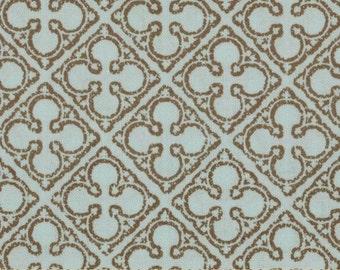 Michael Miller Antiquity Quatrefoils Fabric- Breeze