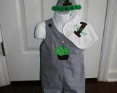 Boys Longall Birthday Set Size 12mo to 4T  YOU CHOOSE COLORS