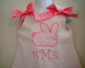 Bunny Dress Size 6mo to 5T