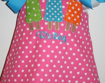 Popsicle Dress Size 6mo to 5T