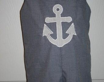 Boy's Anchor  JonJon Size 3mo. to 4T