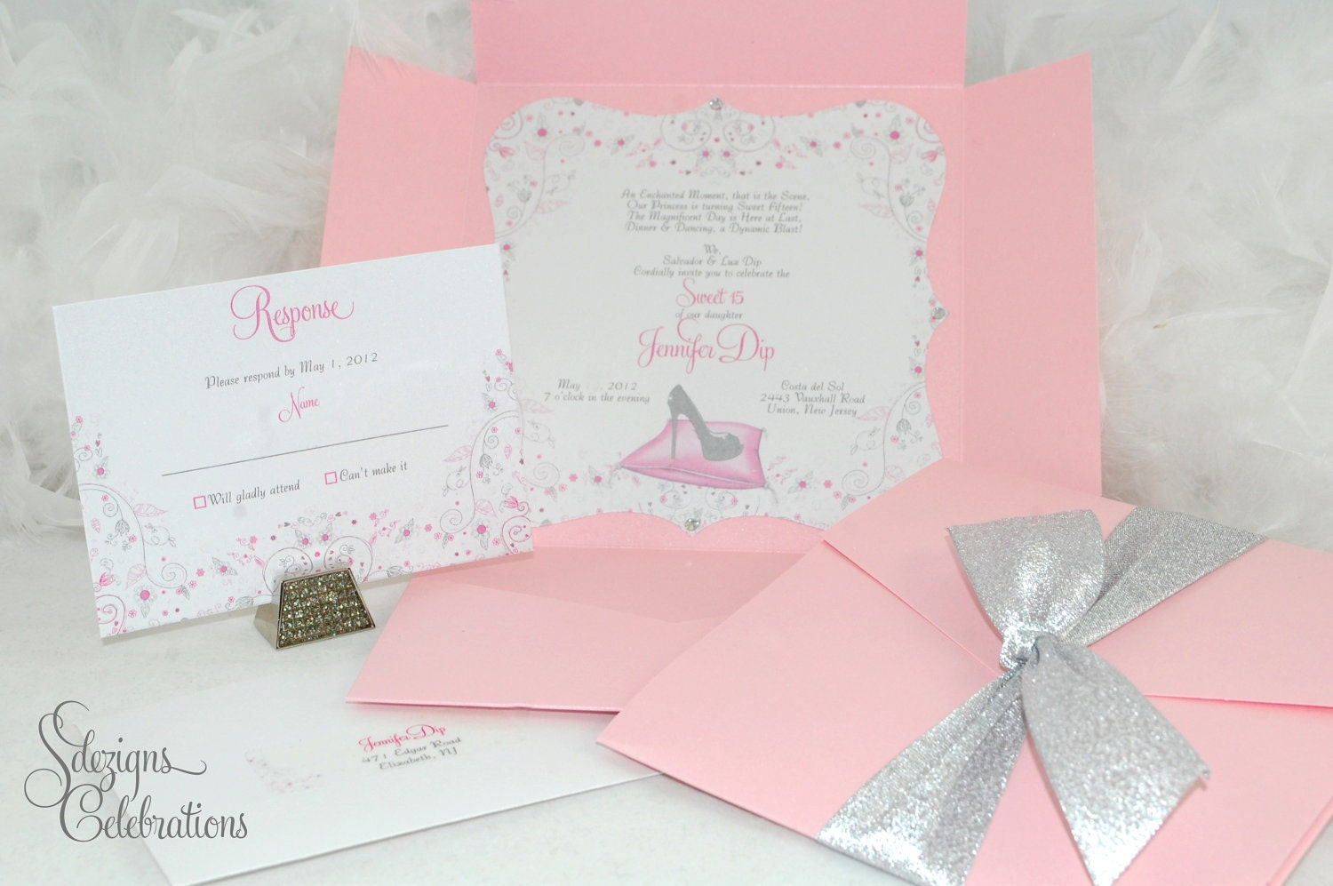 Cinderella Sweet 16 Invitations is perfect invitations ideas