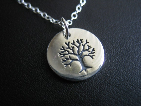 Tree of Life Sterling Silver Necklace with 3-inch extender