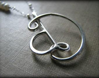 Final Deposit for Jennifer - Four 4 Custom Initials Monogram Necklace - Metal Smith Best Friends Sisters Mother Child