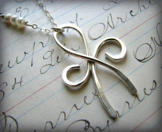Best Friends Friendship Necklace - Large Size Sterling Silver Forever Angel Eternity Symbol Bridesmaids Graduation Gift 30th 35th 40th 45th