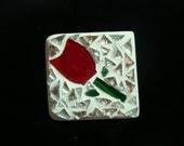 Mosaic Tulip Magnet  Free Shipping