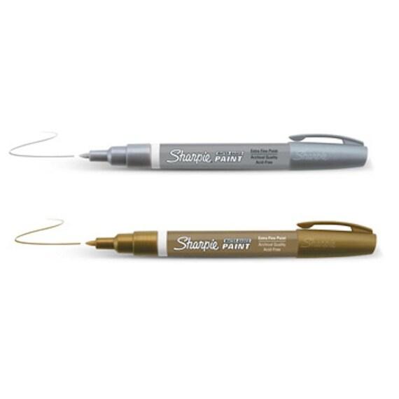 Ultra Fine Point Silver Sharpie Sharpie Ultra Fine Paint Pens