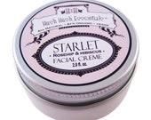 STARLET - Organic Natural Rosehip and Hibiscus Facial Creme (vegan)
