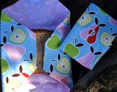 apple and pear sandwich wrapper and napkin set