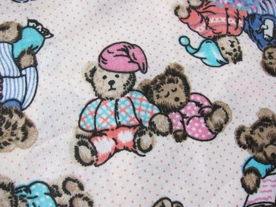 novelty cotton fabric , teddy Bears cotton, toys fabric, kids dressmaking, juvenile crafts, Kawaii crafting