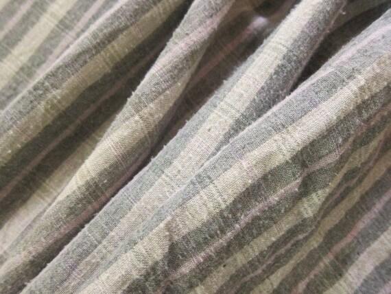 Antique primitive quilt back fabric c1900