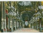 The Foyer of the Opera - Antique Paris Opera Color Postcard - L'Abeille Paris