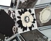 Black and White Elegance Explosion Box Scrapbook Album