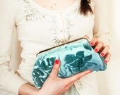 Dreamy Blue Lili clutch
