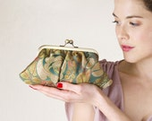 Bright clutch - Renaissance Fifi with chain strap - LAST ONE