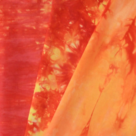 Hand Dyed Fabric - Birdsville - 3 Fat Quarters