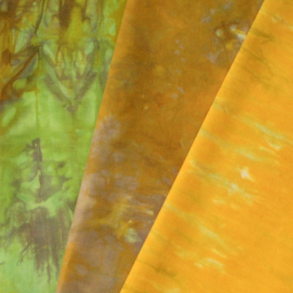 Hand Dyed Fabric - Toowoomba - 3 Fat Quarters