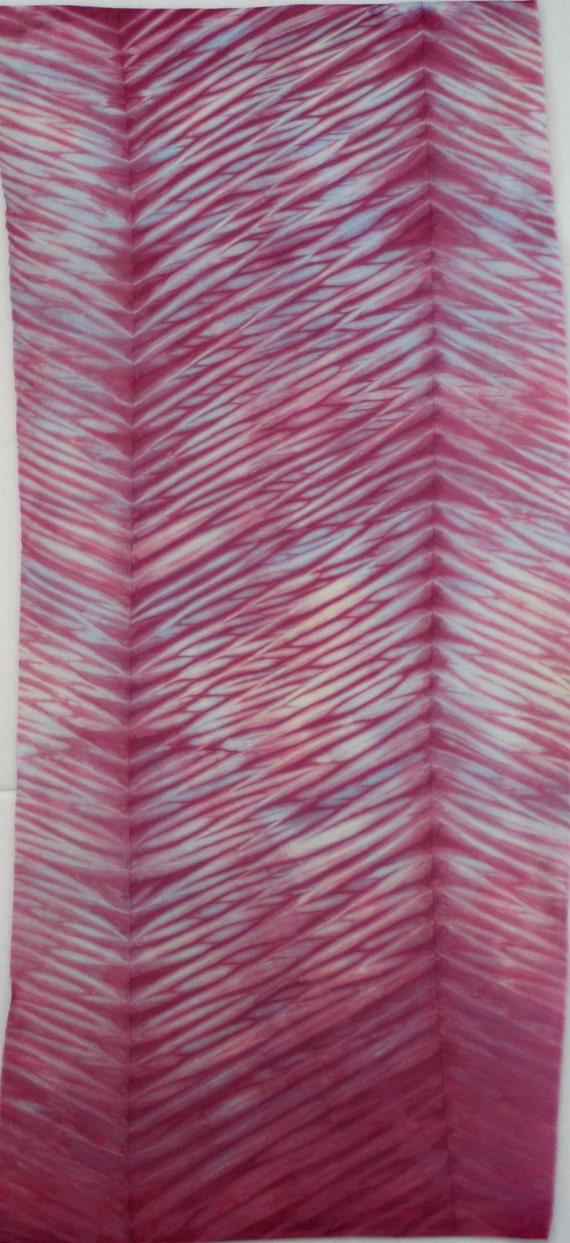 Hand Dyed Shibori Fabric - Kazuno - One Half Yard