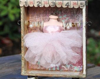 Ballerina Assemblage Shrine