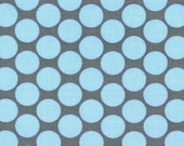 Amy Butler Slate Polka Dot fabric
